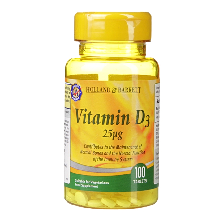 With a lack of sunlight in winter months, a Vitamin D supplement is great for supporting the immune system.