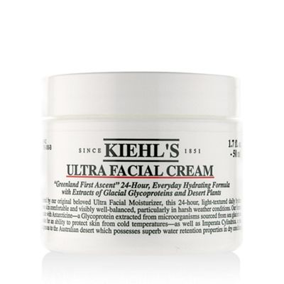 Loved by climbers of Mt. Everest and Arctic explorers, Kiehl's Ultra Facial Cream hydrates skin in the coldest climates!