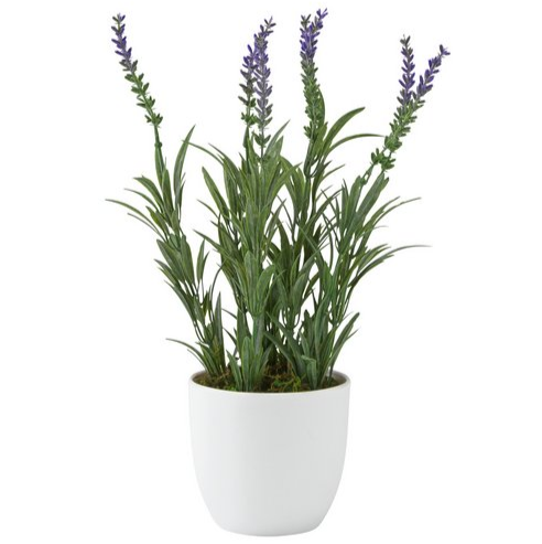 Artificial Lavender Plant