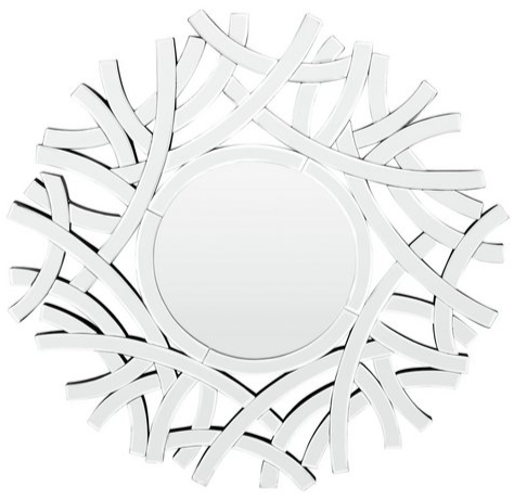 Premier Housewares Interweave Effect Wall Mirror
