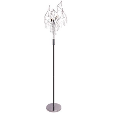 Home Collection - Crystal glass 'Betsy' floor light