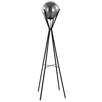 Black 'Eden' Floor Lamp