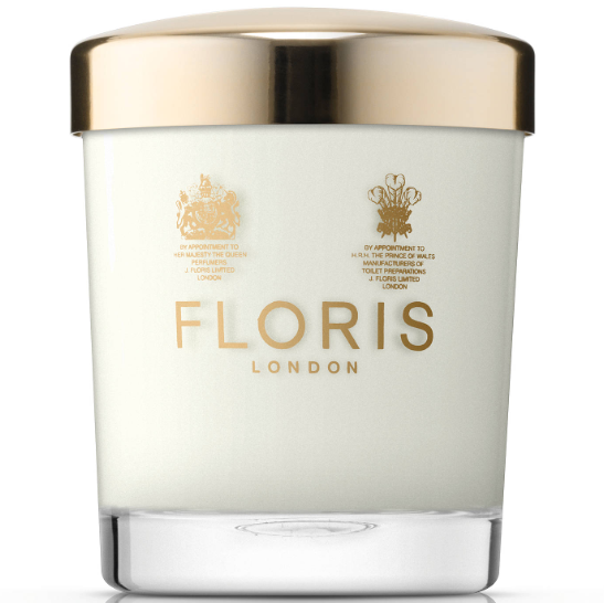 Floris Peony & Rose Scented Candle, 175g