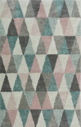 Noble Triangles Rug - 160x230cm - Multicoloured